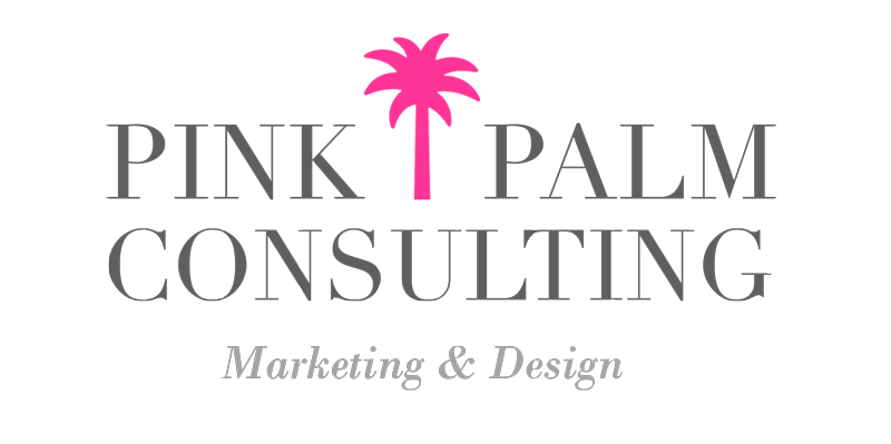 Pink Palm Consulting Mobile Logo