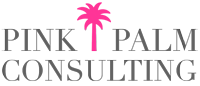 Pink Palm Consulting Sticky Logo